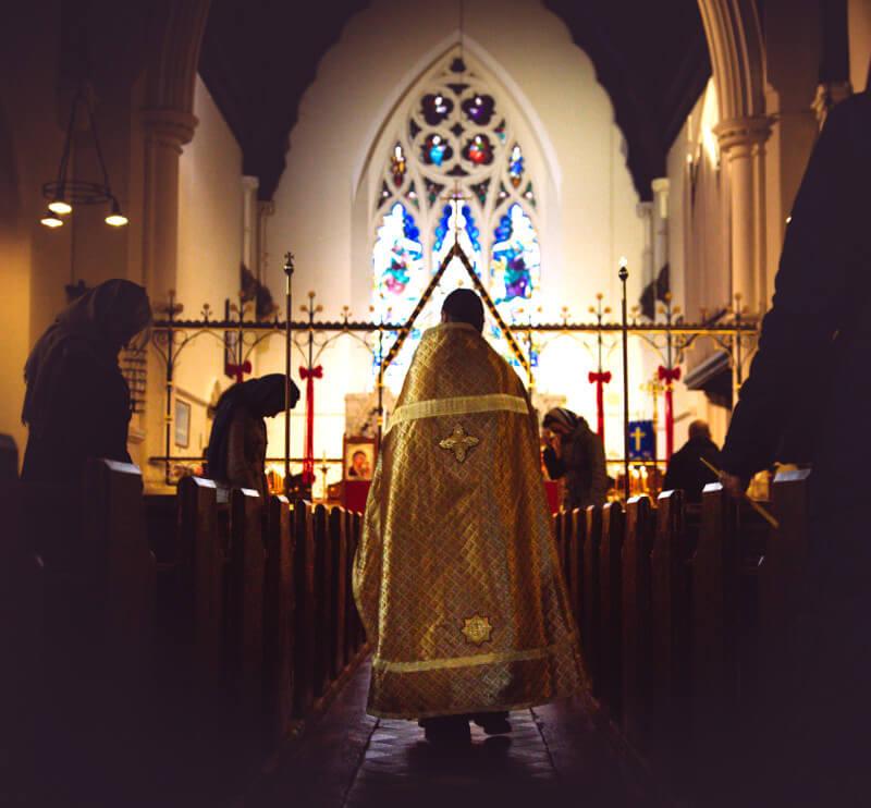 Censing the church