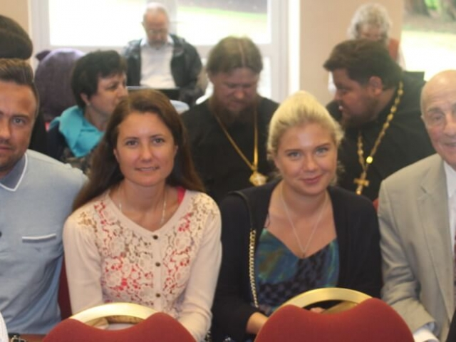 Our parishioners at the Conference of the Sourozh Diocese