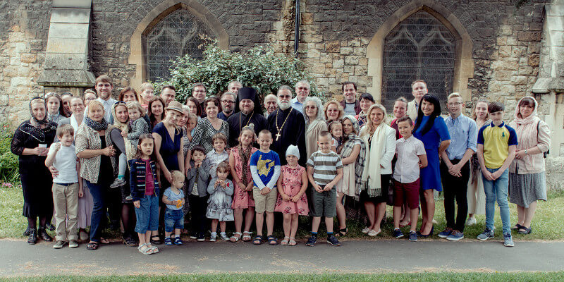Bishop Matthew visits the Romford parish June 2018